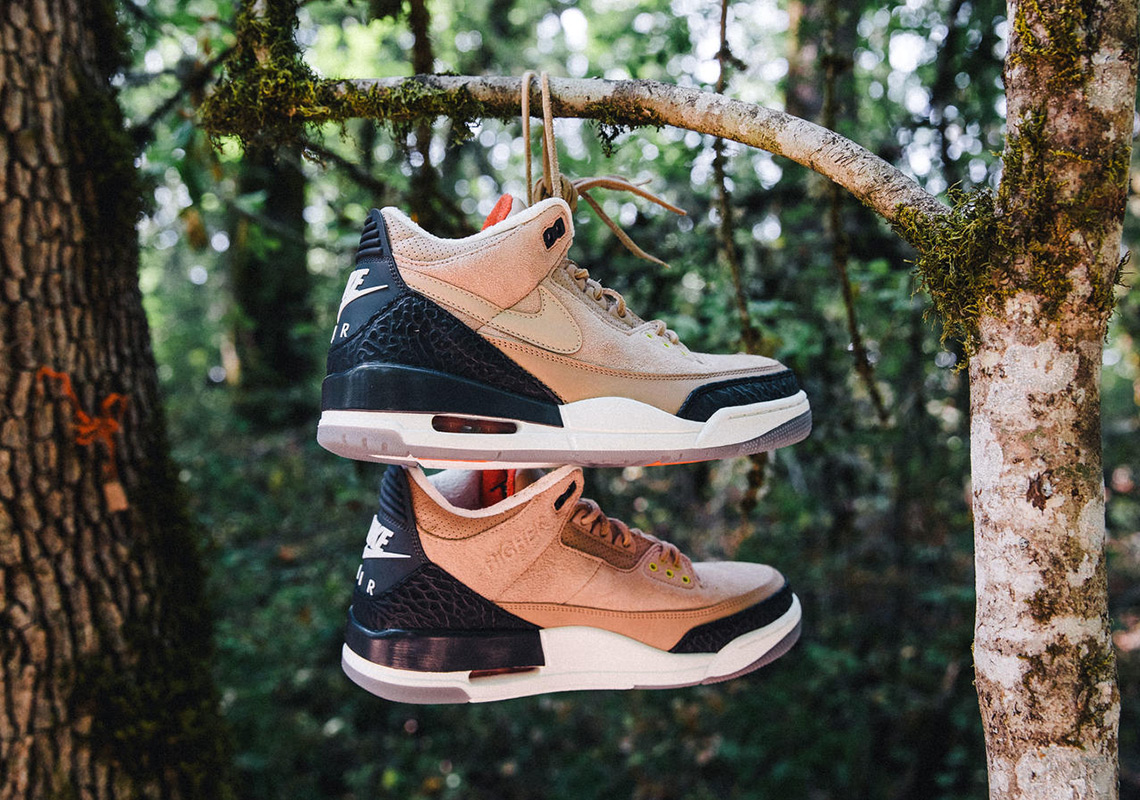 bc3cd70d75fe Justin Timberlake s Next Air Jordan Was Made To Look Like It Was  Constructed By Hand