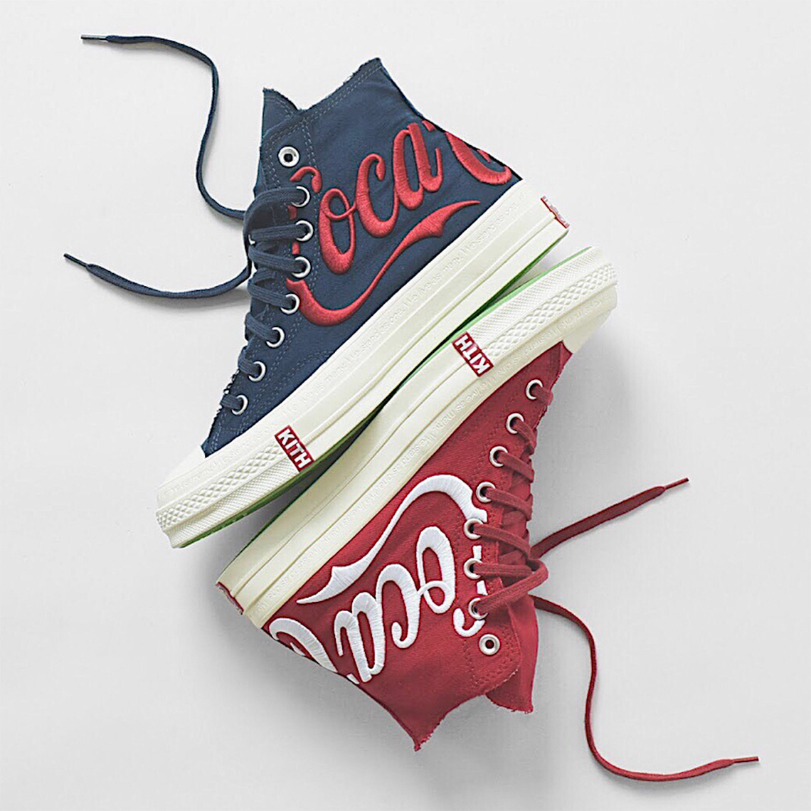 cccde91c7d1ee7 KITH x Coca Cola x Converse Chuck Taylor 1970s. Release Date  August 18th