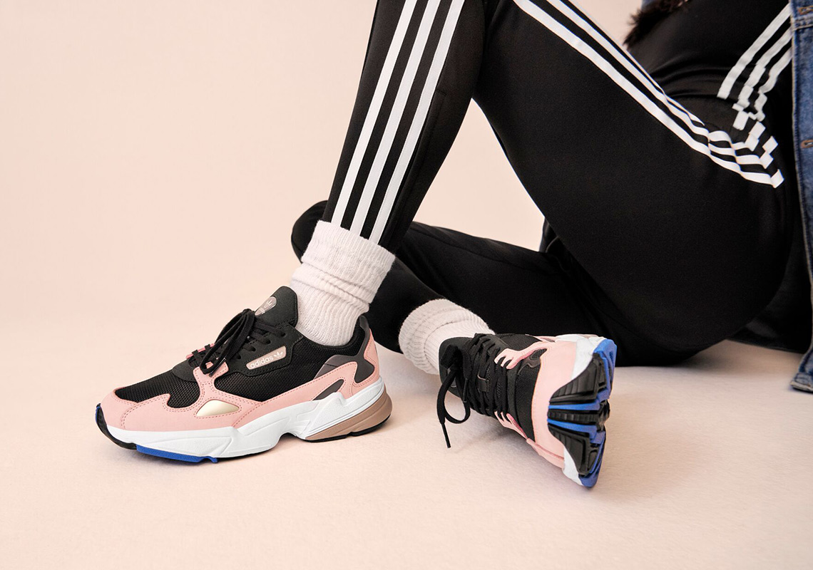 8c2a73ac0321 Enjoy a detailed look of Kylie in the newest adidas Falcon below and look  forward to this campaign s global launch at adidas.com and other stockists  on ...