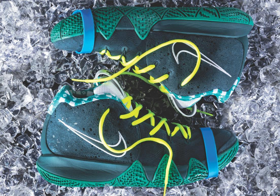 """f4bfb411da5c Concepts x Nike Kyrie 4 """"Green Lobster"""" May Be Dropping Soon"""