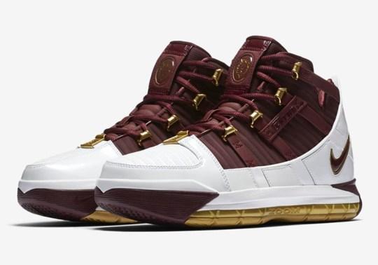 "Nike LeBron 3 ""Christ The King"" Returns"