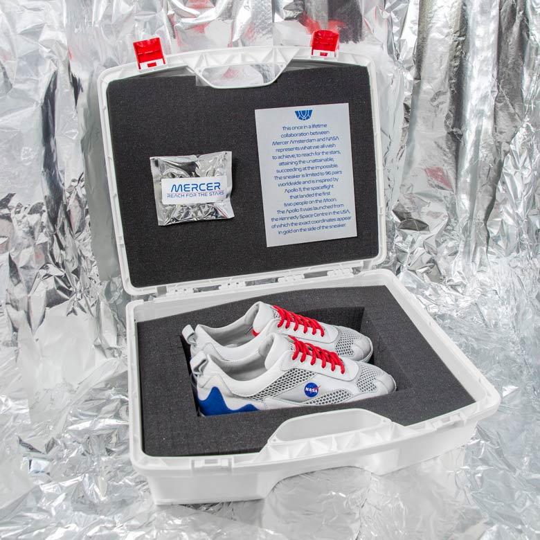 Mercer Amsterdam + NASA Apollo 11 Shoe   SneakerNews com