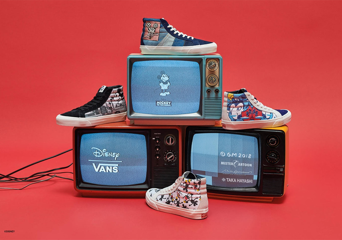 be07d7218e Disney And Vans Team Up To Celebrate 90 Years Of Mickey Mouse