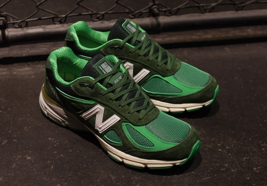 "mita sneakers And New Balance Team Up On A ""Bouncing Frog"" 990v4"