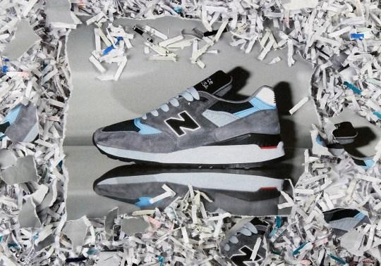 New Balance Drops A Reflective 998 Made In USA