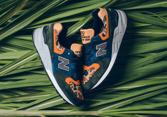"New Balance 999 ""Duck Camo"" Arrives For The Fall Season"