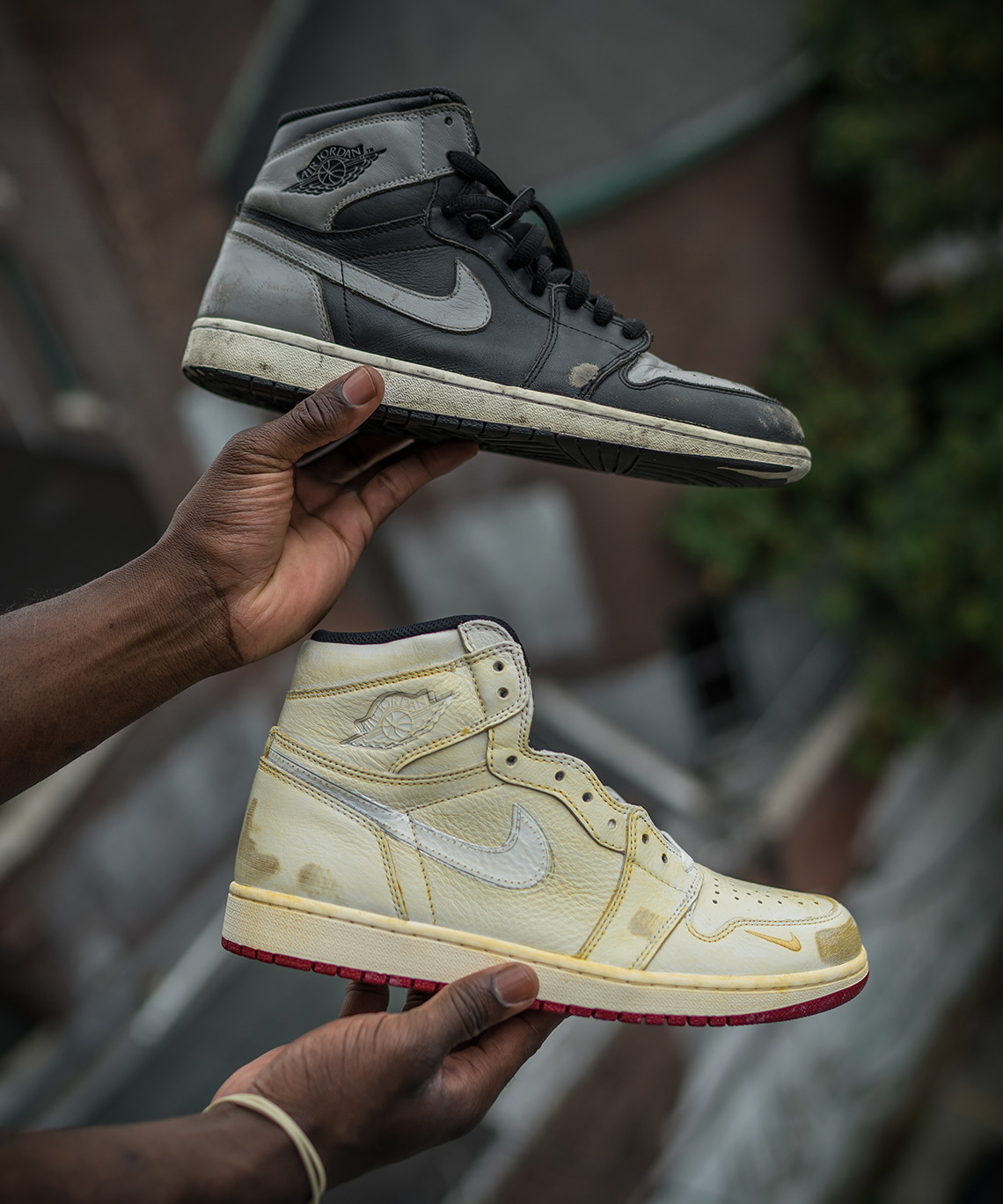 Nigel Sylvester Reveals The Destroyed Air Jordan 1s That Inspired ... f76c5191d