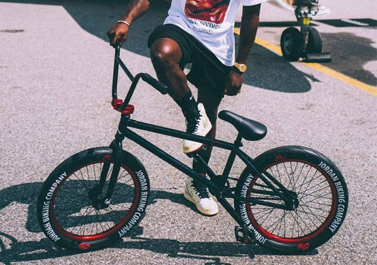 5204dd14a04f3e Jordan Brand Made A 1-of-1 Bicycle For Nigel Sylvester