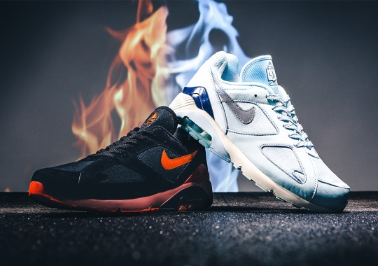 """The Nike Air 180 """"Fire And Ice"""" Pack Is Available Now"""