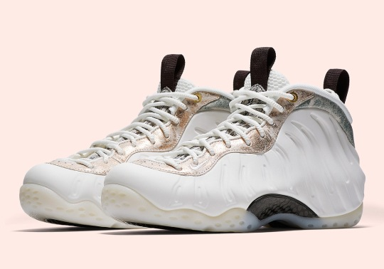 "Nike Air Foamposite One ""Summit White"" For Women Releases This Month"