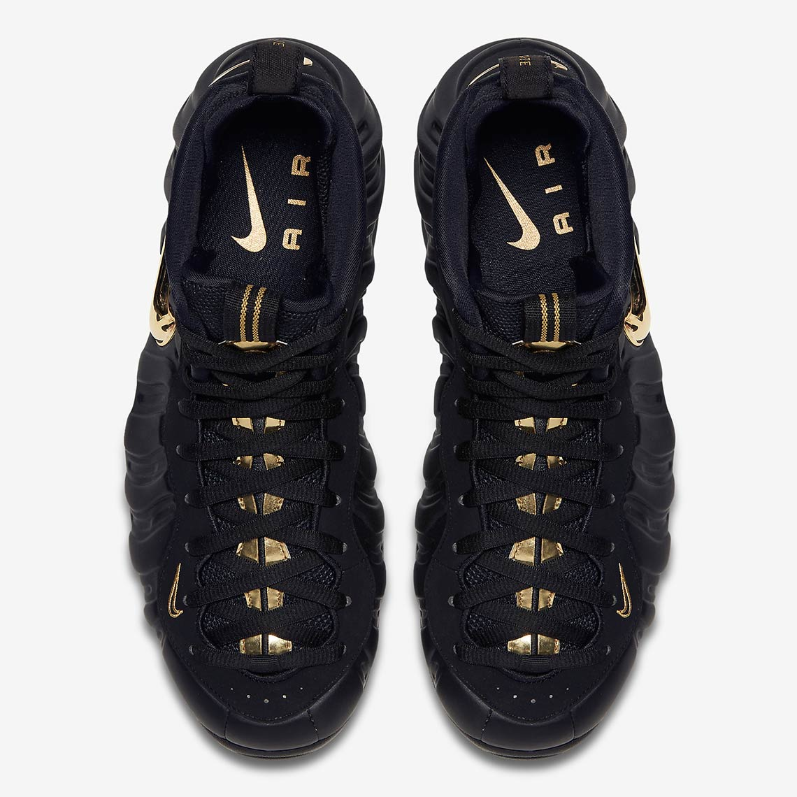 new products 094a3 88c16 Nike Air Foamposite Pro Black Metallic Gold 624041-009 ...