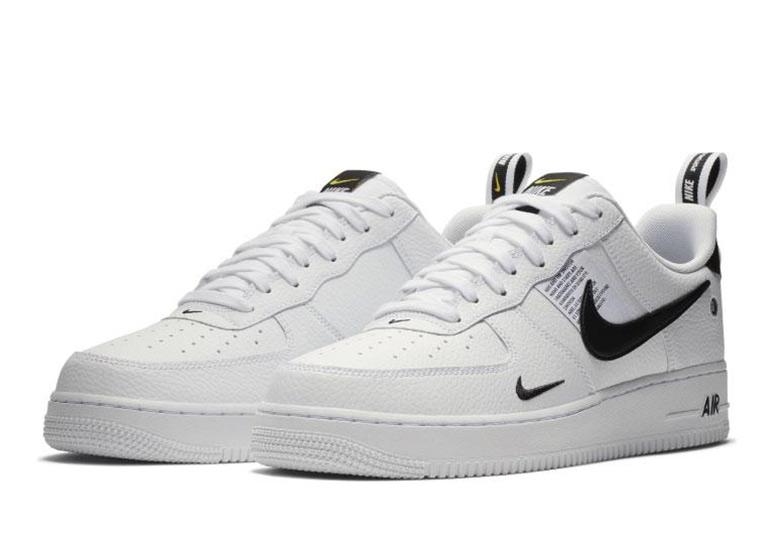 8f06490712c Nike Air Force 1. Color  Black White-Black-Tour Yellow