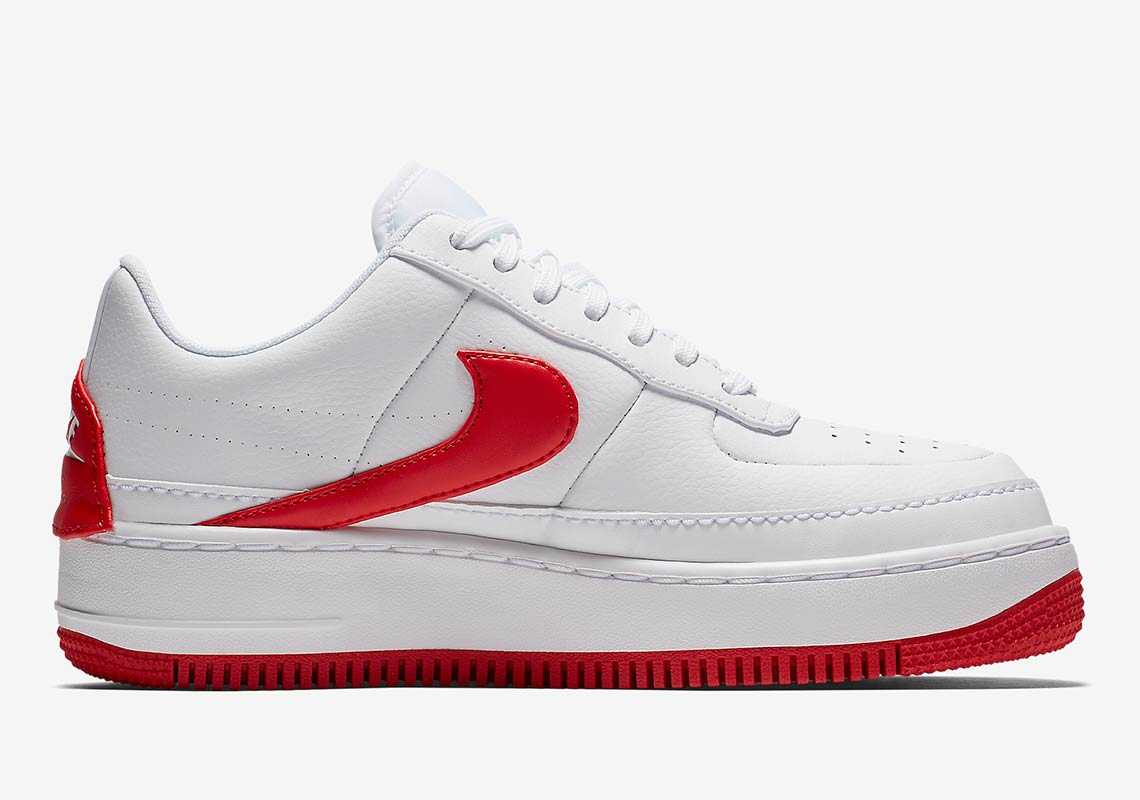 Nike Air Force 1 Jester Red + White