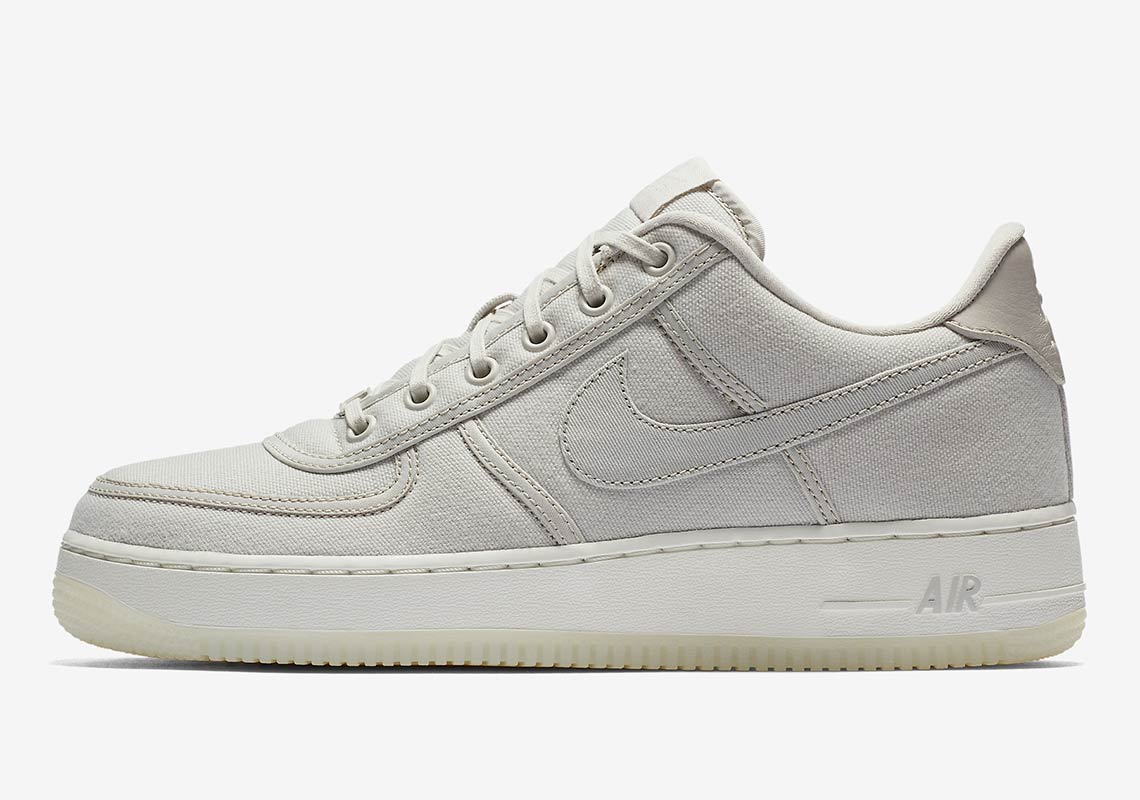 best website 5ed41 68324 Nike Air Force 1 Low Retro QS CNVS Release Date  September 6, 2018.  AVAILABLE AT Nike UK Color  December Sky December Sky-Off White Style Code   AH1067-401