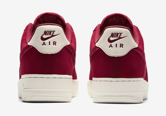"Nike Air Force 1 Low ""Red Crush"" And ""Ashen Slate"""