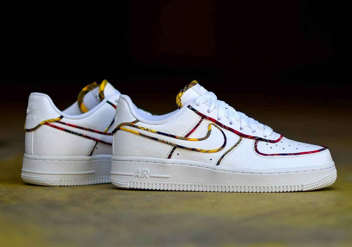 Nike Air Force 1 Low 110 € Color  White University Red-Amarillo Style Code   AV8218-100. Images  Sneakers France f97356733