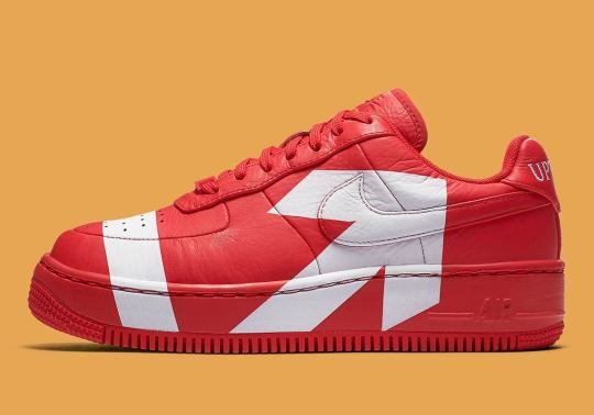 Nike's Latest Air Force 1 Upstep Features Giant Arrow Detailing