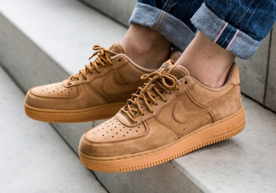 """The Nike Air Force 1 Low """"Flax"""" Is Back For Fall"""