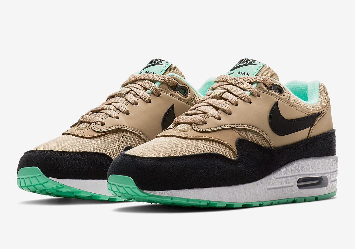50390f679015 The Nike Air Max 1 Arrives With Mint Green Soles