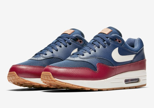 Nike Adds Premium Touches To This Upcoming Air Max 1