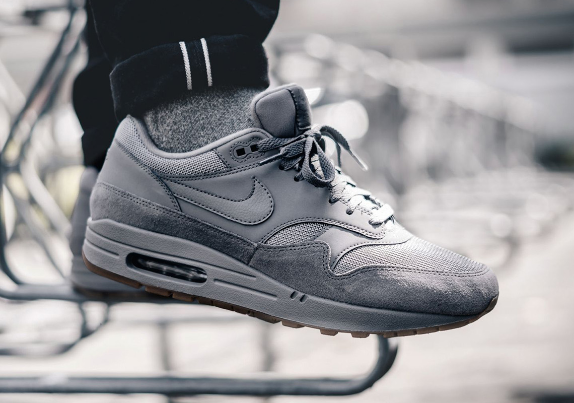 Nike Air Max 1 Grey Suede