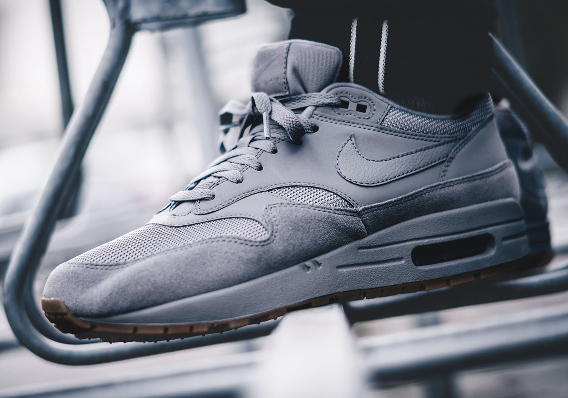 Nike Keeps It Nice And Simple With This Cool Grey Air Max 1