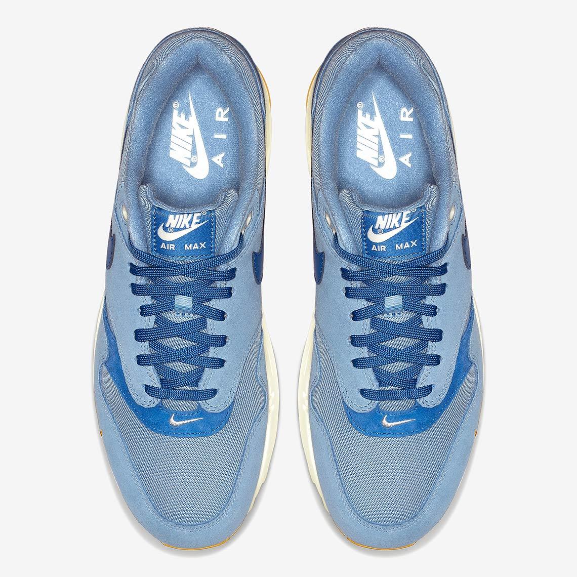 bc72010311 Nike Air Max 1 Mini Swoosh 875844-404 + 875844-007 Release Info ...