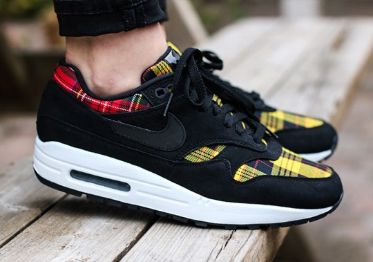 Nike Adds Tartan Prints To The Air Max 1