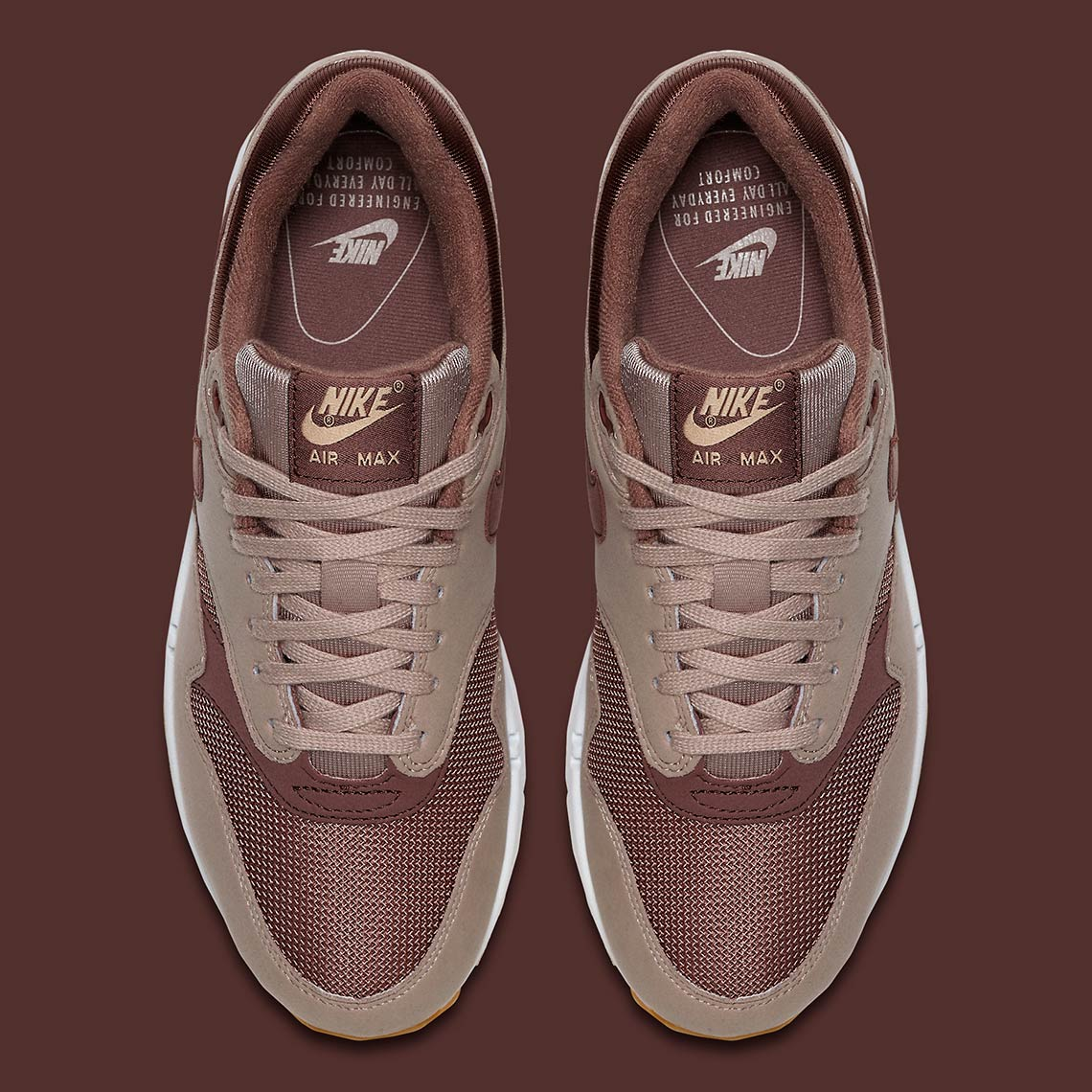 05c19b12995d4 Nike Air Max 1 Women s Diffused Taupe 319986-204 Available Now ...