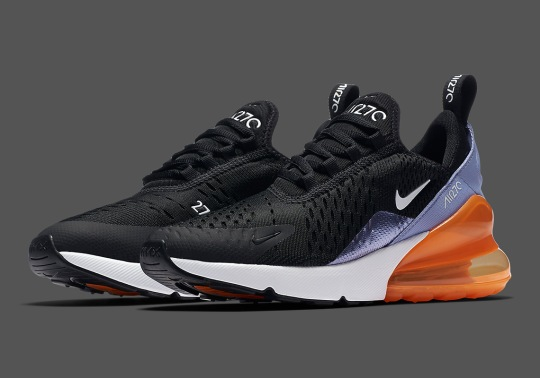 This Nike Air Max 270 For Kids Features Metallic Foil Detailing