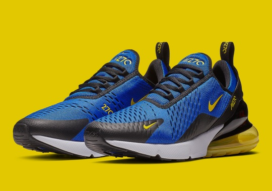 A Nike Air Max 270 For Warriors Fans Is Coming Soon