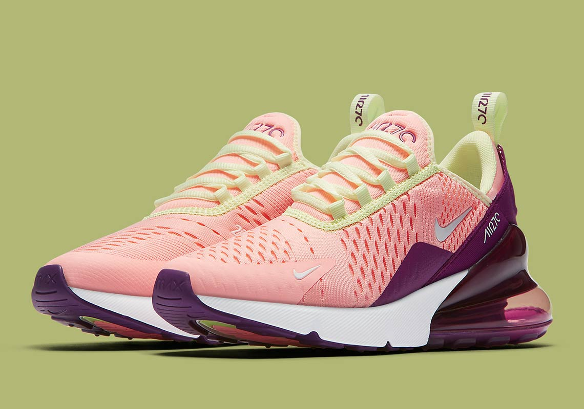 buy online c9d55 7e214 Nike Air Max 270 Pink Tint AV7965-600 Available Now ...