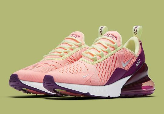 "Nike Air Max 270 ""Pink Tint"" Is Available Now"