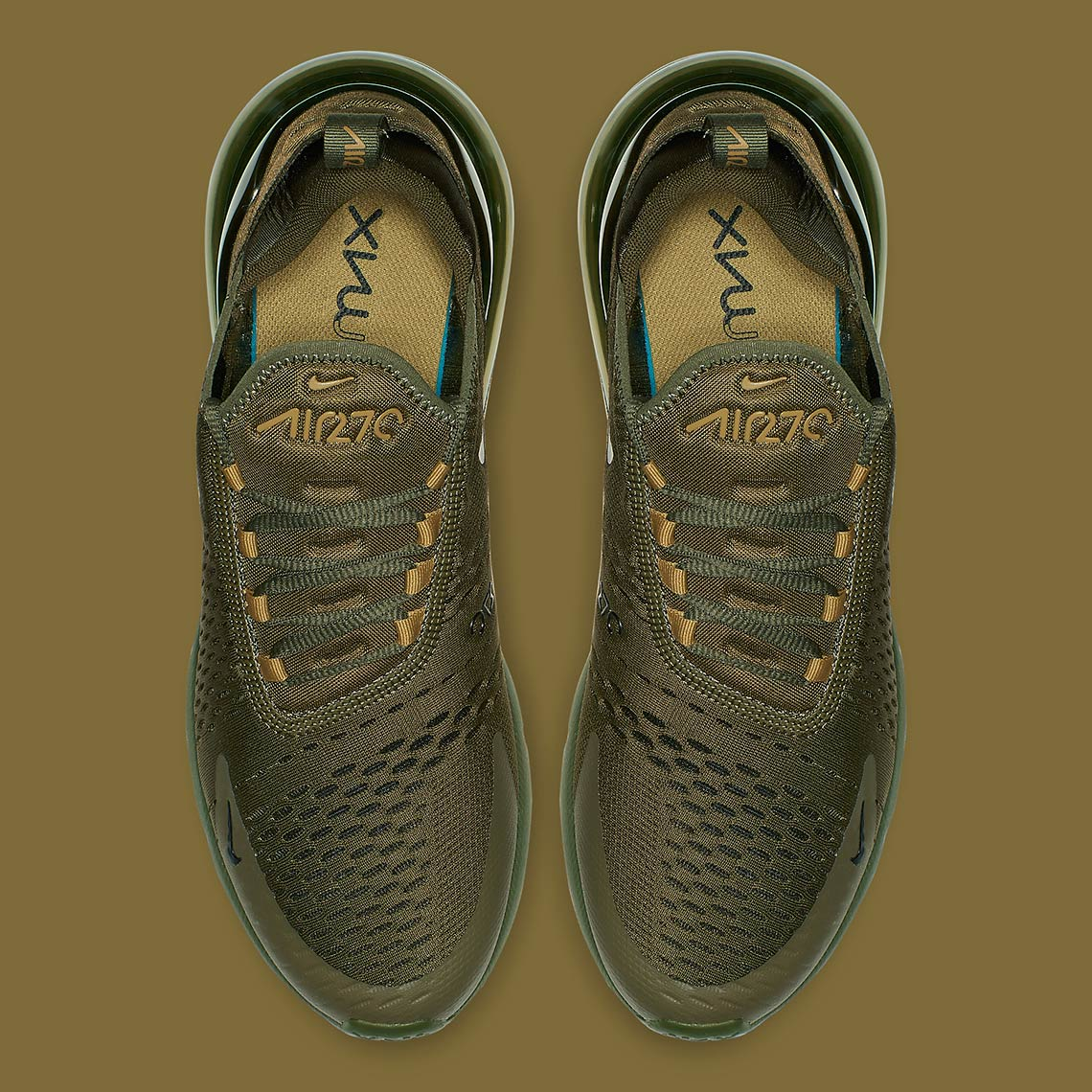 097a4a7e872f68 Nike Air Max 270. AVAILABLE AT Nike UK AVAILABLE AT Nike  150. Color  Olive  Canvas Olive Canvas Golden Moss-Black