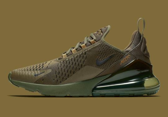 "Nike Air Max 270 ""Triple Olive"" Is Coming Soon"
