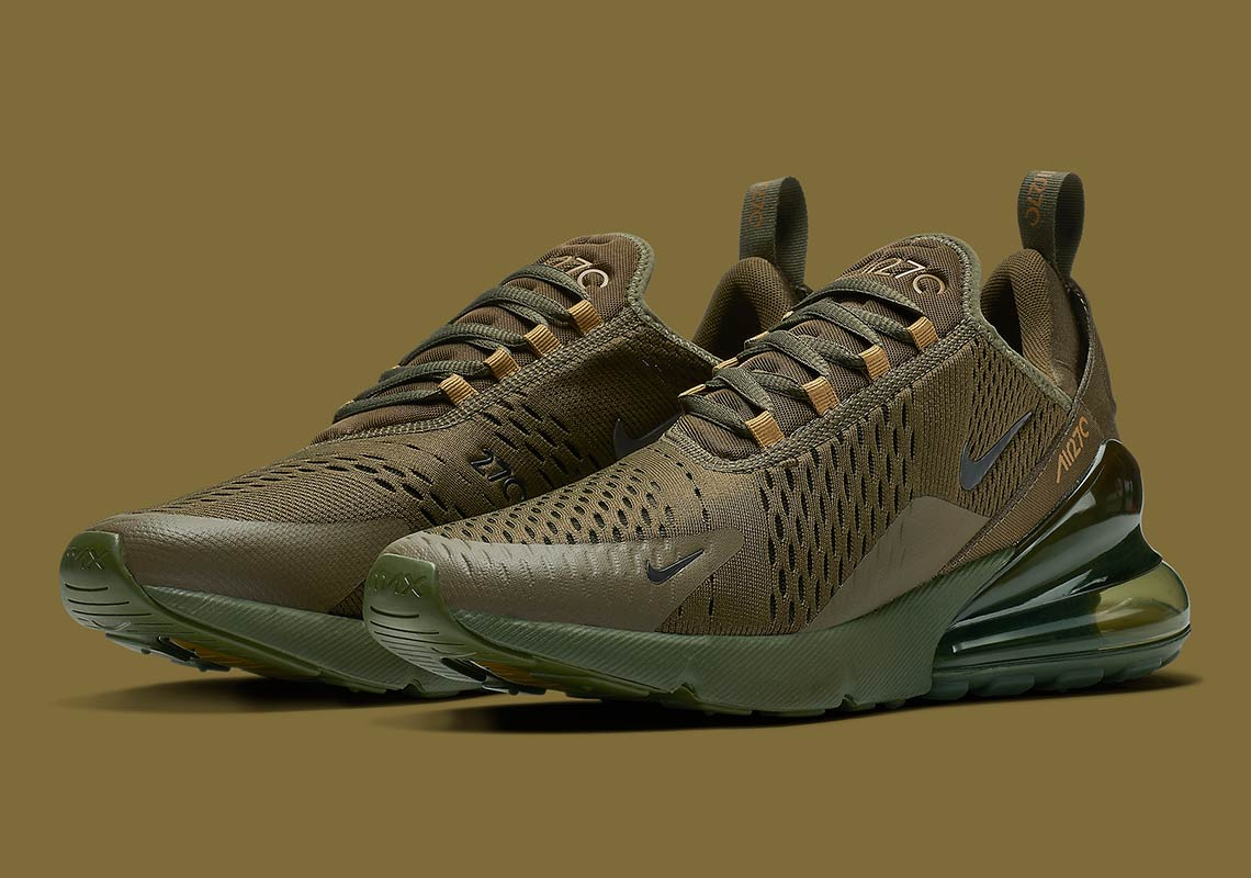 Nike Air Max 270 Olive | Now Available | HAVEN