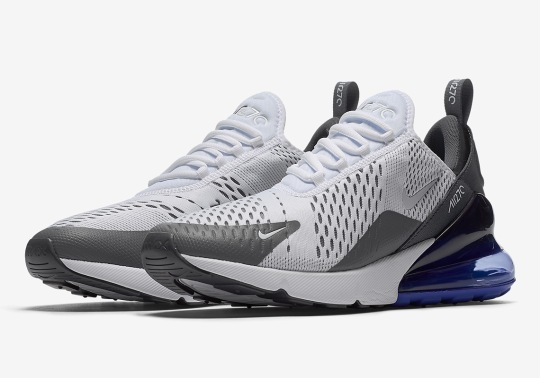 The Nike Air Max 270 Arrives In Grey And Persian Violet