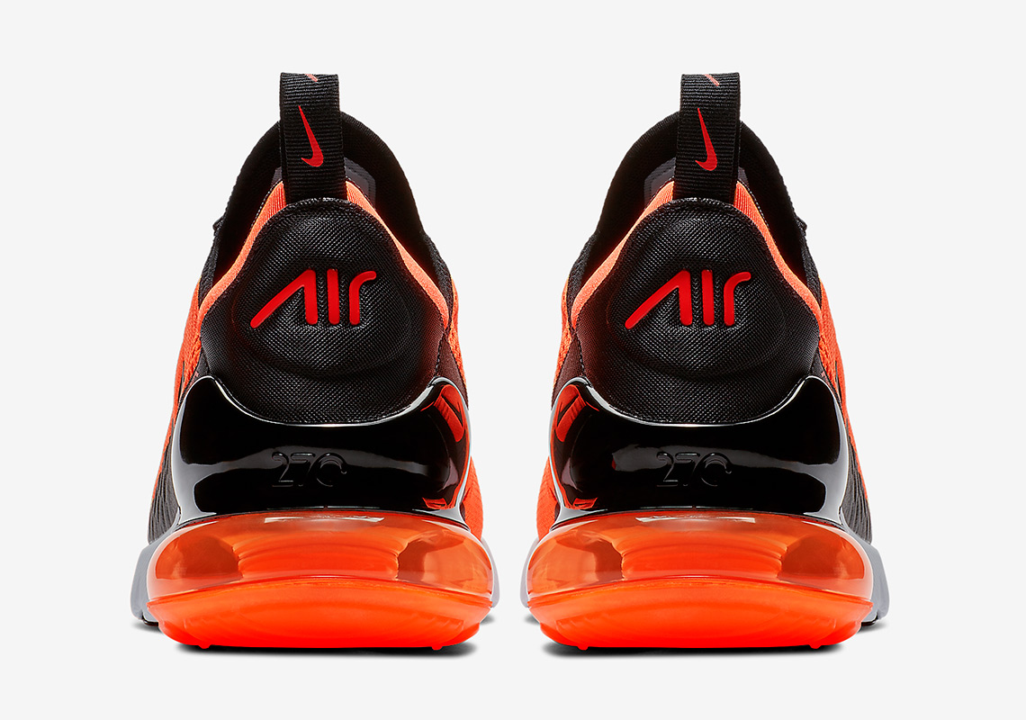 06038aa848 Nike Air Max 270. Release Date: September, 2018 $150. Color: Total Orange/ Black-White-Chile Red Style Code: BV2517-800. Advertisement. Advertisement