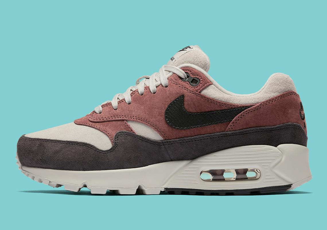f4077508a39282 Nike Air Max 90 1 Sepia Stone Aq1273-200 Release Info