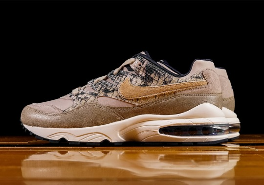 The Nike Air Max 94 Features Snakeskin