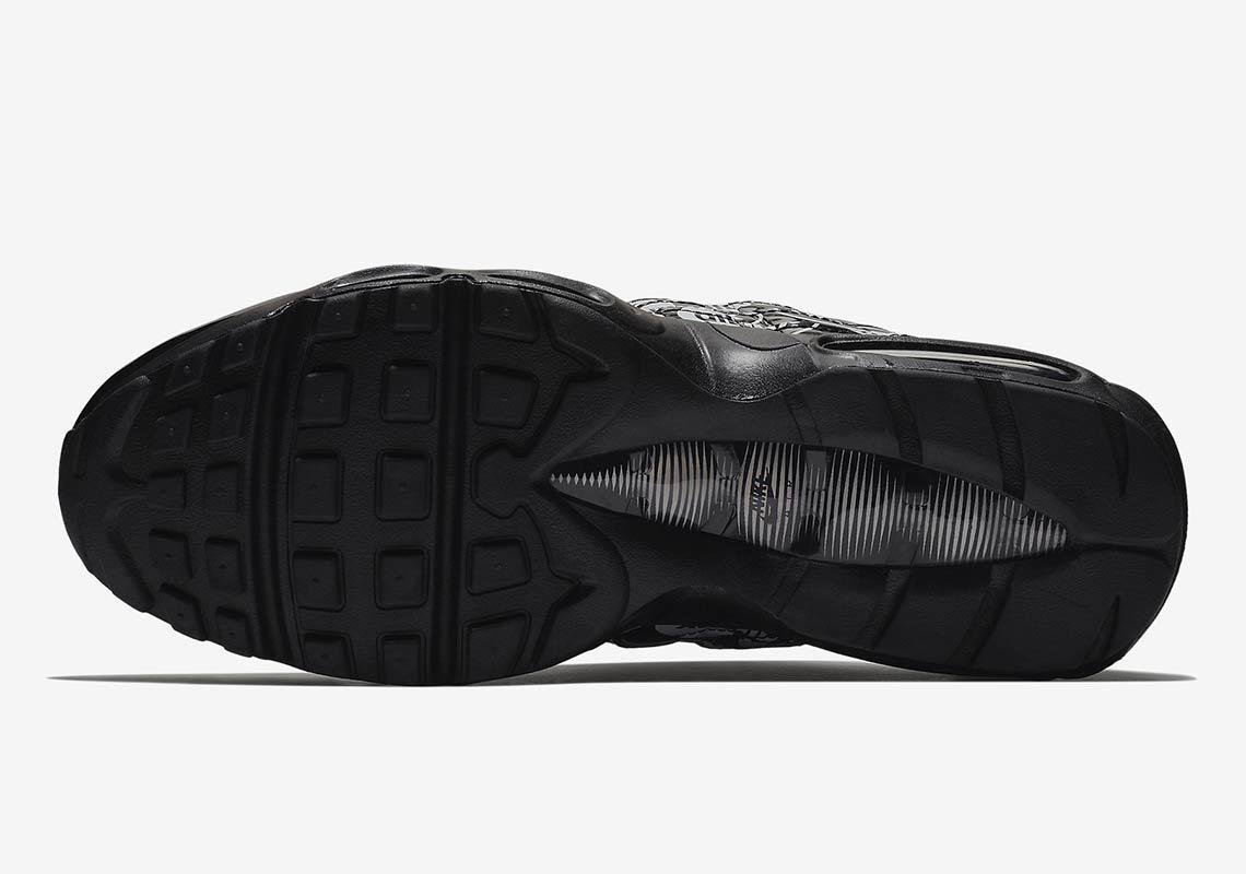 the best attitude b9326 234c5 Nike Air Max 95 All Over Print Volt + Black + White   SneakerNews.com