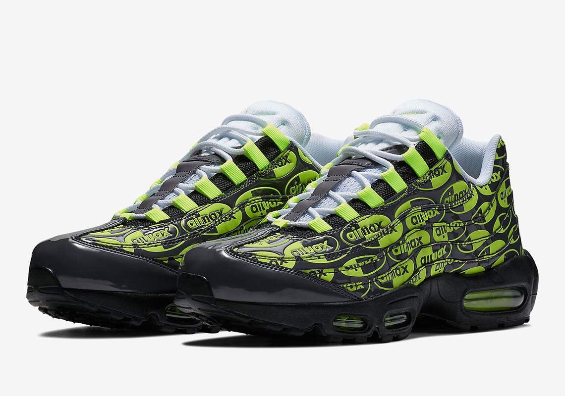 Nike Air Max 95. AVAILABLE AT Nike Color  White Black-White 9939bc008