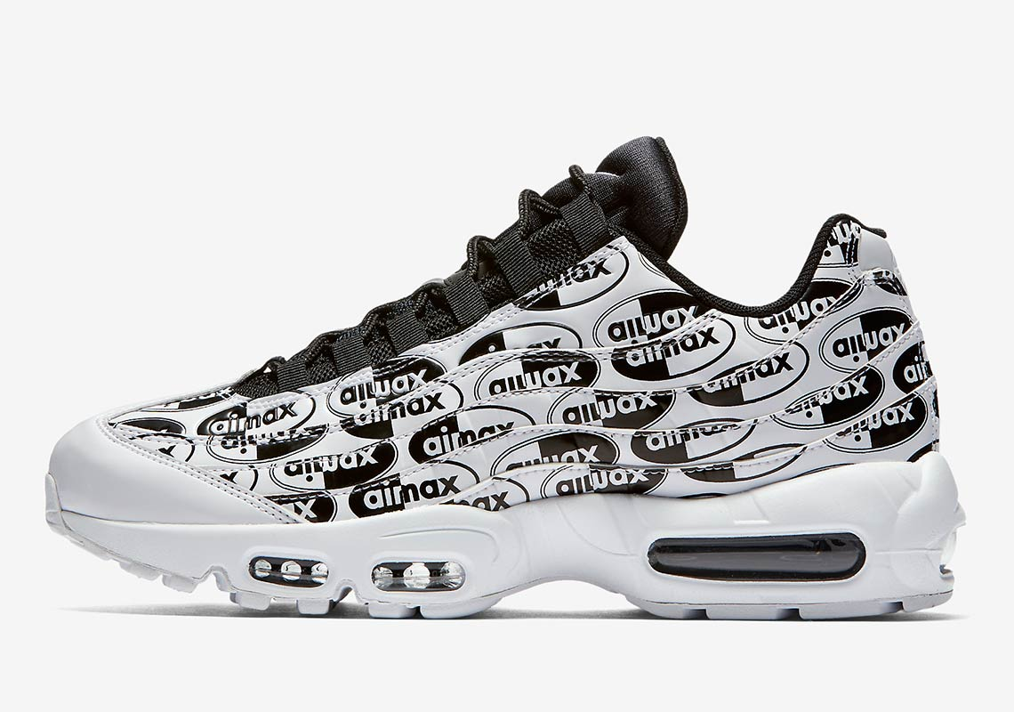 Nike Air Max 95. AVAILABLE AT Nike Color  White Black-White c96f0153f