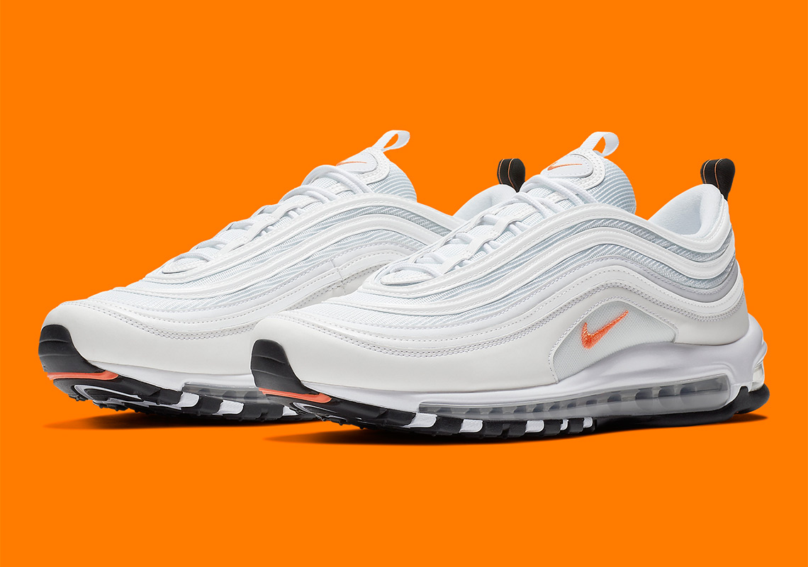 "The Trendy ""Cone"" Orange Hits The Nike Air Max 97 6514f92b6af3"
