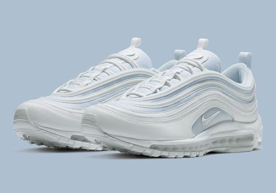 This Nike Air Max 97 Is Tinted In Light Blue