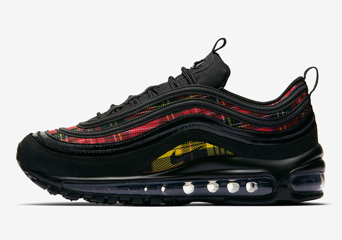 "release date f6fca 32c4f Nike Air Max 97 SE ""Tartan"" Is Available"