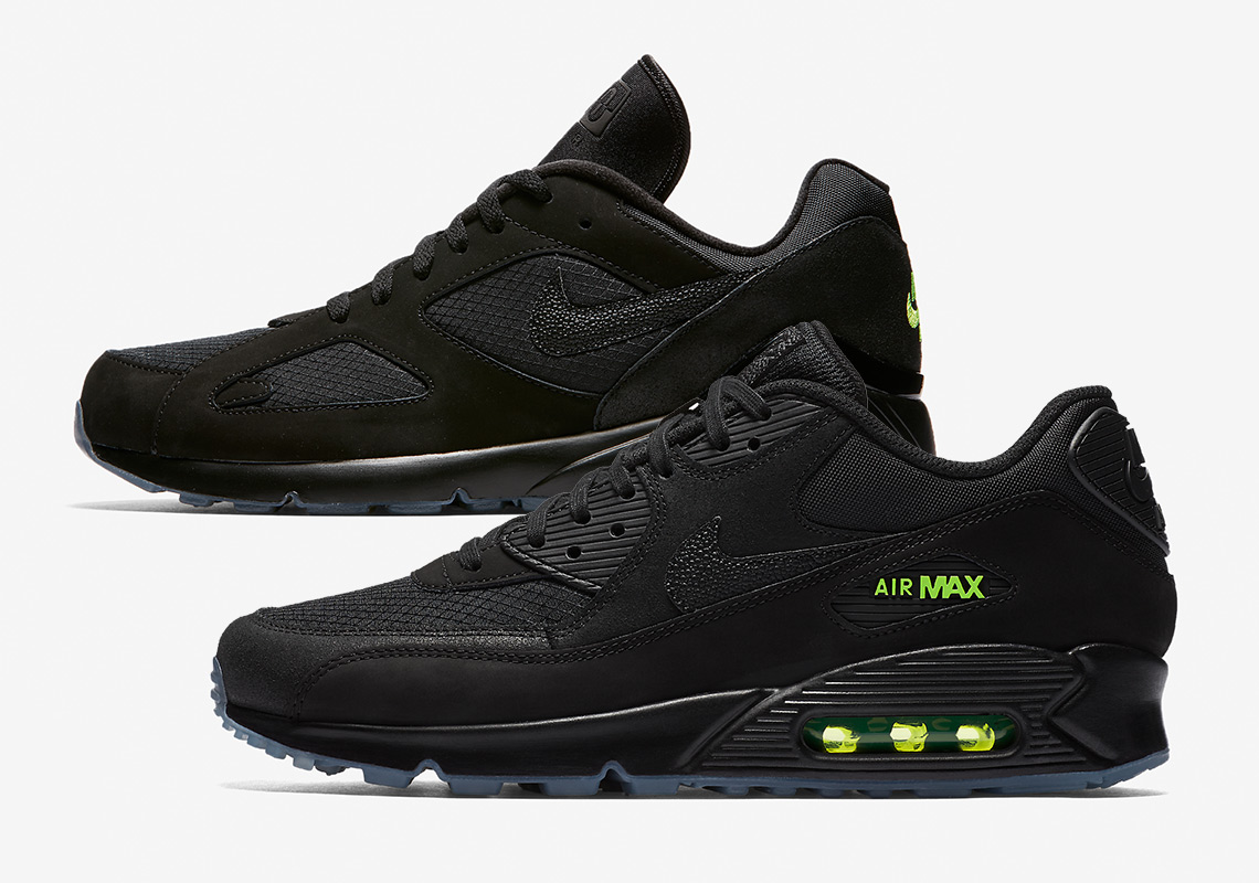 Nike Air Max 90 + 180 Night Ops Pack Release Info ...