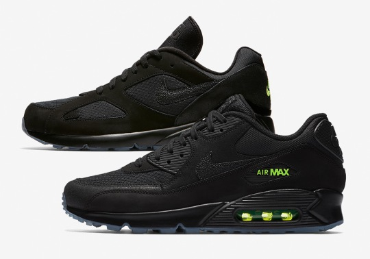 "The Nike Air Max ""Night Ops"" Pack Releases On August 23rd"