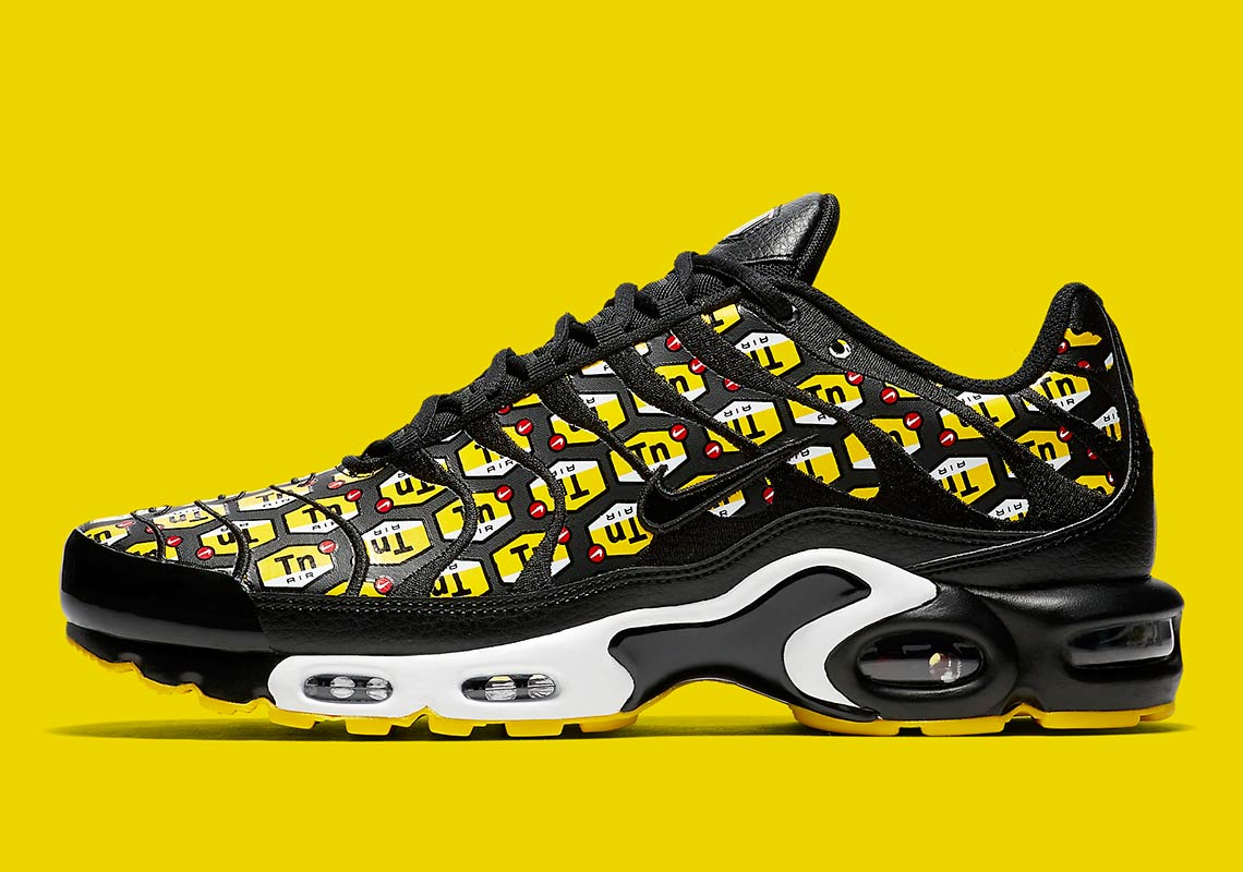 "b315cda1478dac The Nike Air Max Plus ""All Over Print"" Highlights Tuned Air Technology"