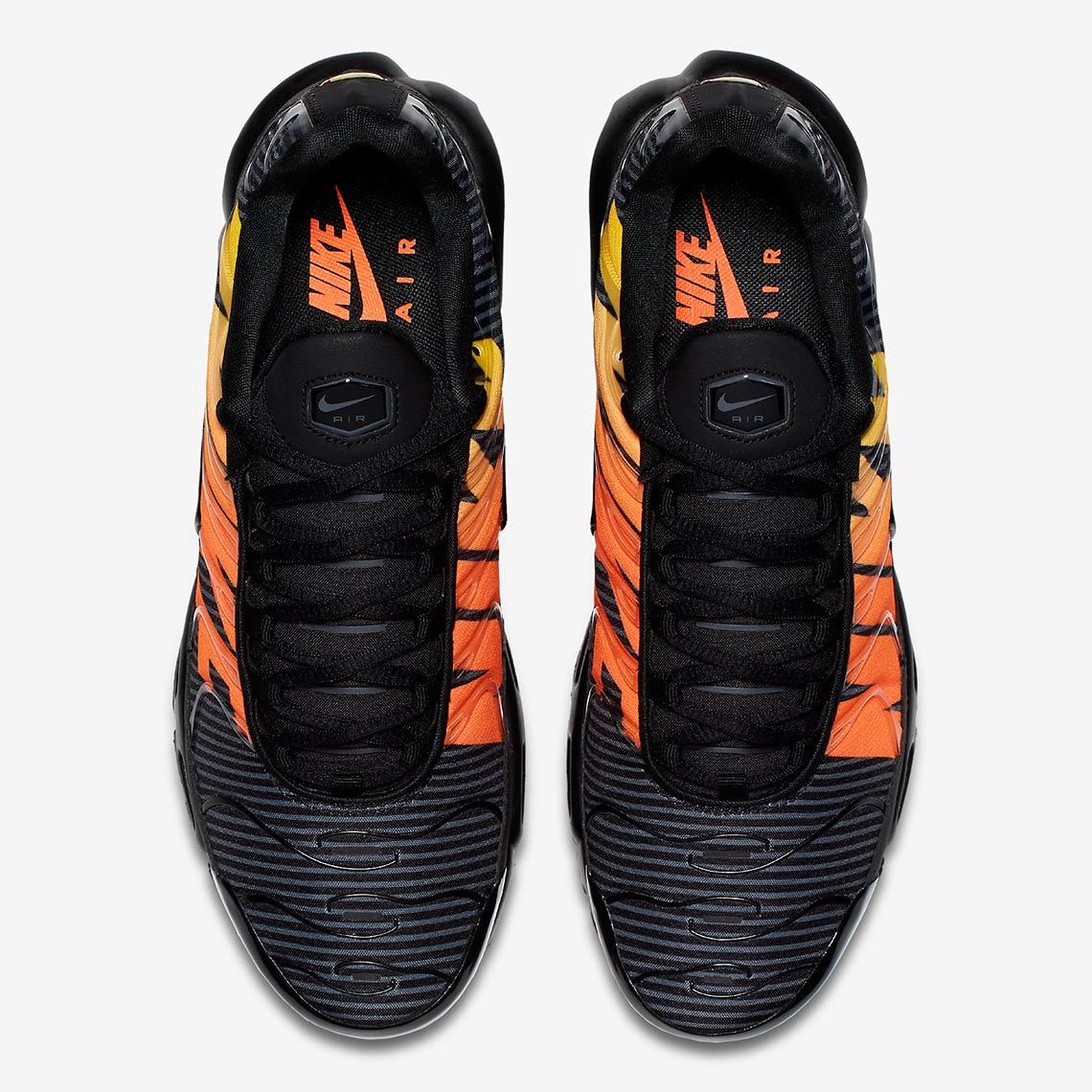 air max plus mercurial black orange